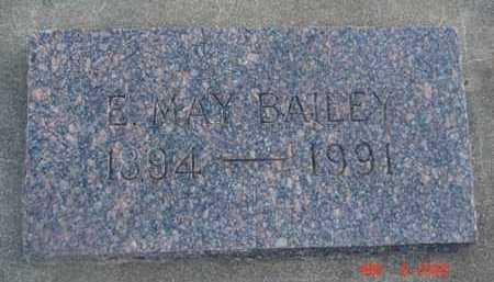 BAILEY, E. MAY - Minnehaha County, South Dakota | E. MAY BAILEY - South Dakota Gravestone Photos