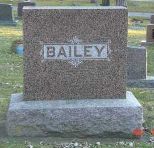 BAILEY, FAMILY MARKER - Minnehaha County, South Dakota | FAMILY MARKER BAILEY - South Dakota Gravestone Photos