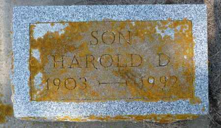 BAILEY, HAROLD D. - Minnehaha County, South Dakota | HAROLD D. BAILEY - South Dakota Gravestone Photos