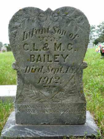 BAILEY, INFANT SON - Minnehaha County, South Dakota | INFANT SON BAILEY - South Dakota Gravestone Photos