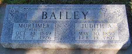 BAILEY, JUDITH A. - Minnehaha County, South Dakota | JUDITH A. BAILEY - South Dakota Gravestone Photos