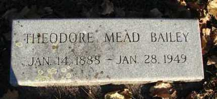 BAILEY, THEODORE MEAD - Minnehaha County, South Dakota | THEODORE MEAD BAILEY - South Dakota Gravestone Photos