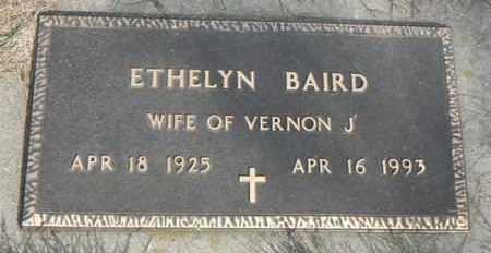 BAIRD, ETHELYN - Minnehaha County, South Dakota   ETHELYN BAIRD - South Dakota Gravestone Photos