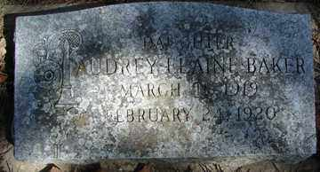 BAKER, AUDREY ELAINE - Minnehaha County, South Dakota | AUDREY ELAINE BAKER - South Dakota Gravestone Photos