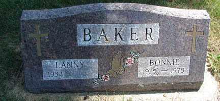 BAKER, LANNY - Minnehaha County, South Dakota | LANNY BAKER - South Dakota Gravestone Photos