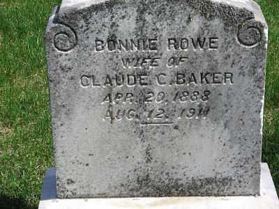 BAKER, BONNIE - Minnehaha County, South Dakota | BONNIE BAKER - South Dakota Gravestone Photos