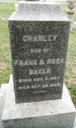 BAKER, CHARLEY - Minnehaha County, South Dakota | CHARLEY BAKER - South Dakota Gravestone Photos