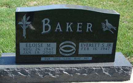 BAKER, EVERETT S, JR - Minnehaha County, South Dakota | EVERETT S, JR BAKER - South Dakota Gravestone Photos