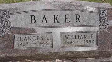 BAKER, WILLIAM E. - Minnehaha County, South Dakota | WILLIAM E. BAKER - South Dakota Gravestone Photos