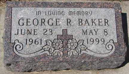 BAKER, GEORGE R. - Minnehaha County, South Dakota | GEORGE R. BAKER - South Dakota Gravestone Photos