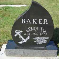 BAKER, GLEN T. - Minnehaha County, South Dakota | GLEN T. BAKER - South Dakota Gravestone Photos