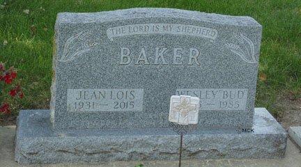 BAKER, WESLEY GEORGE - Minnehaha County, South Dakota | WESLEY GEORGE BAKER - South Dakota Gravestone Photos