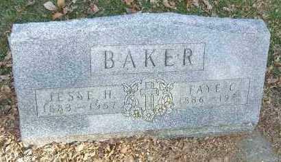 BAKER, FAYE C. - Minnehaha County, South Dakota | FAYE C. BAKER - South Dakota Gravestone Photos