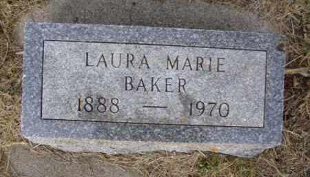 BAKER, LAURA MARIE - Minnehaha County, South Dakota | LAURA MARIE BAKER - South Dakota Gravestone Photos