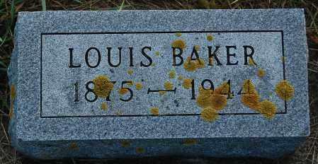 BAKER, LOUIS - Minnehaha County, South Dakota | LOUIS BAKER - South Dakota Gravestone Photos