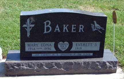 BAKER, EVERETT S., - Minnehaha County, South Dakota | EVERETT S., BAKER - South Dakota Gravestone Photos