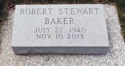 BAKER, ROBERT STEWART - Minnehaha County, South Dakota | ROBERT STEWART BAKER - South Dakota Gravestone Photos
