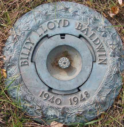 BALDWIN, BILLY LLOYD - Minnehaha County, South Dakota   BILLY LLOYD BALDWIN - South Dakota Gravestone Photos