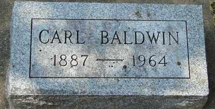 BALDWIN, CARL - Minnehaha County, South Dakota   CARL BALDWIN - South Dakota Gravestone Photos