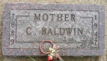 BALDWIN, CHRISTINE - Minnehaha County, South Dakota | CHRISTINE BALDWIN - South Dakota Gravestone Photos