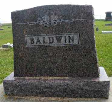 BALDWIN, FAMILY STONE - Minnehaha County, South Dakota | FAMILY STONE BALDWIN - South Dakota Gravestone Photos