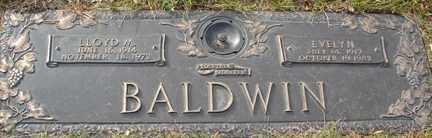 BALDWIN, EVELYN - Minnehaha County, South Dakota | EVELYN BALDWIN - South Dakota Gravestone Photos