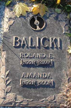 BALICKI, ROLAND EDWARD - Minnehaha County, South Dakota | ROLAND EDWARD BALICKI - South Dakota Gravestone Photos