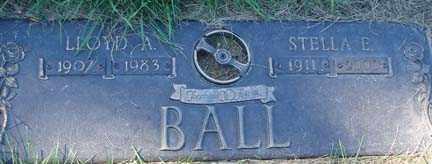 BALL, STELLA E. - Minnehaha County, South Dakota | STELLA E. BALL - South Dakota Gravestone Photos