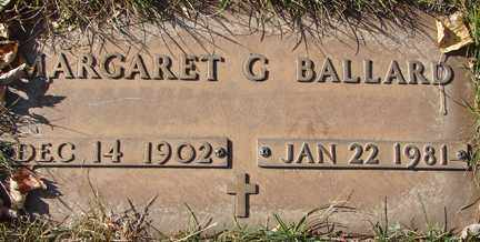 BALLARD, MARGARET C, - Minnehaha County, South Dakota | MARGARET C, BALLARD - South Dakota Gravestone Photos