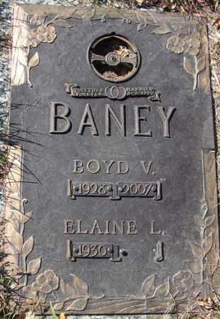 BANEY, ELAINE LAVONNE - Minnehaha County, South Dakota | ELAINE LAVONNE BANEY - South Dakota Gravestone Photos