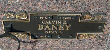 BANEY, NINA L. - Minnehaha County, South Dakota | NINA L. BANEY - South Dakota Gravestone Photos