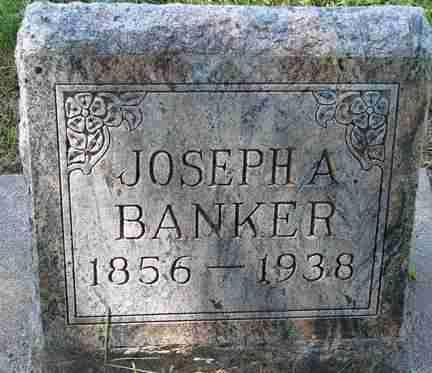 BANKER, JOSEPH A. - Minnehaha County, South Dakota | JOSEPH A. BANKER - South Dakota Gravestone Photos