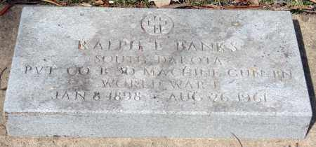 BANKS, RALPH - Minnehaha County, South Dakota | RALPH BANKS - South Dakota Gravestone Photos