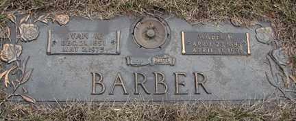 BARBER, MABEL H. - Minnehaha County, South Dakota | MABEL H. BARBER - South Dakota Gravestone Photos