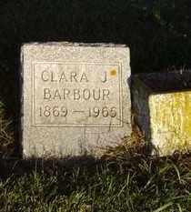 BARBOUR, CLARA J. - Minnehaha County, South Dakota | CLARA J. BARBOUR - South Dakota Gravestone Photos