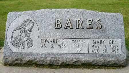 SYKORA BARES, MARY DEE - Minnehaha County, South Dakota   MARY DEE SYKORA BARES - South Dakota Gravestone Photos
