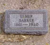 BARKER, ELMER - Minnehaha County, South Dakota | ELMER BARKER - South Dakota Gravestone Photos