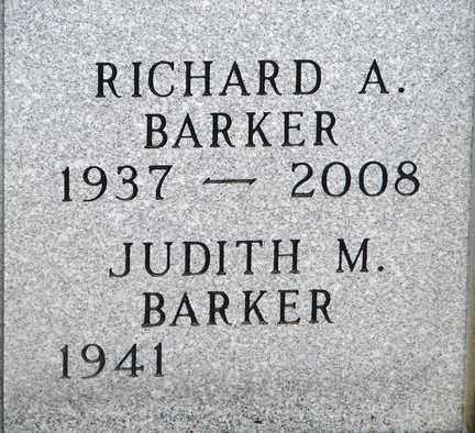 BARKER, RICHARD A. - Minnehaha County, South Dakota | RICHARD A. BARKER - South Dakota Gravestone Photos