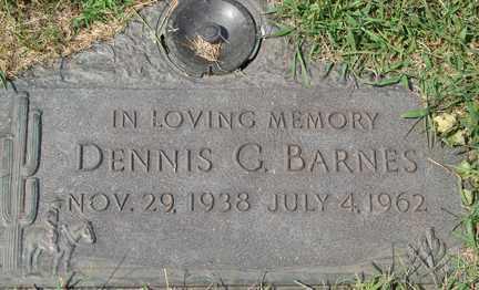 BARNES, DENNIS C. - Minnehaha County, South Dakota | DENNIS C. BARNES - South Dakota Gravestone Photos