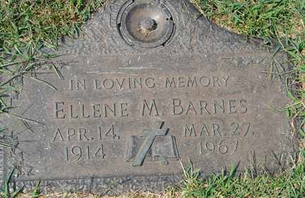 BARNES, ELLENE M. - Minnehaha County, South Dakota | ELLENE M. BARNES - South Dakota Gravestone Photos