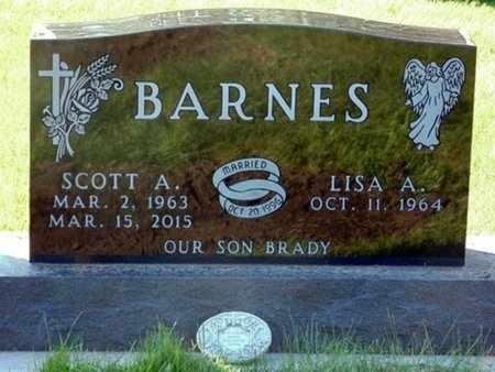 BARNES, LISA A. - Minnehaha County, South Dakota | LISA A. BARNES - South Dakota Gravestone Photos