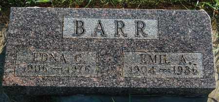 BARR, EMIL A. - Minnehaha County, South Dakota | EMIL A. BARR - South Dakota Gravestone Photos
