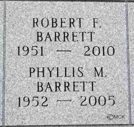 BARRETT, ROBERT F. - Minnehaha County, South Dakota | ROBERT F. BARRETT - South Dakota Gravestone Photos