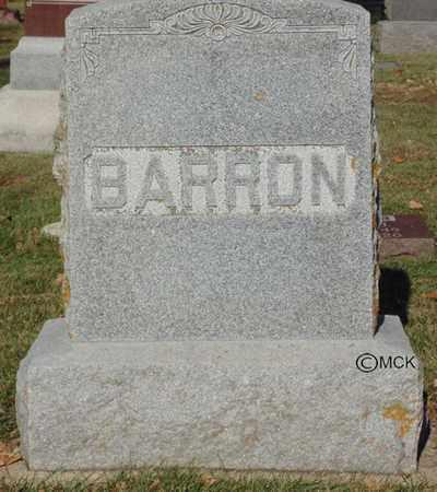 BARRON, HEADSTONE - Minnehaha County, South Dakota | HEADSTONE BARRON - South Dakota Gravestone Photos
