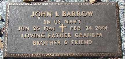 BARROW, JOHN L. - Minnehaha County, South Dakota | JOHN L. BARROW - South Dakota Gravestone Photos