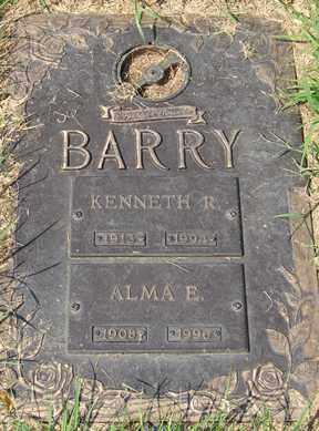 BARRY, KENNETH R. - Minnehaha County, South Dakota | KENNETH R. BARRY - South Dakota Gravestone Photos
