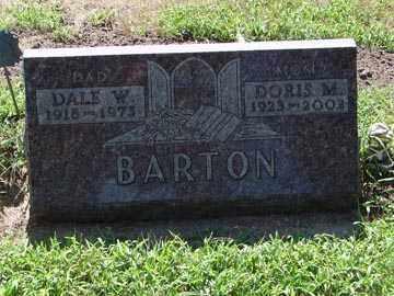 BARTON, DALE W. - Minnehaha County, South Dakota | DALE W. BARTON - South Dakota Gravestone Photos