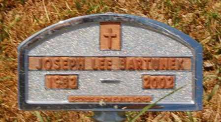 BARTUNEK, JOSEPH LEE - Minnehaha County, South Dakota | JOSEPH LEE BARTUNEK - South Dakota Gravestone Photos