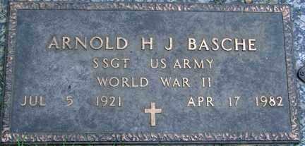BASCHE, ARNOLD H.J. - Minnehaha County, South Dakota | ARNOLD H.J. BASCHE - South Dakota Gravestone Photos