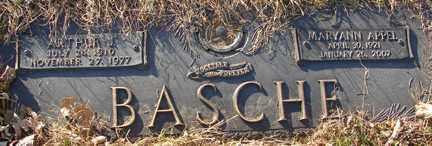 BASCHE, MARYANN - Minnehaha County, South Dakota   MARYANN BASCHE - South Dakota Gravestone Photos